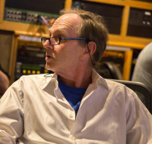 Photo of John Finbury with Green Flash Music in the Studio