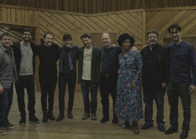 Photo of Ari Lavigna , Emilio Miler, Chico Pinheiro, John Patitucci, John Finbury, Thalma de Freitas, Duduka da Fonseca & Vitor Gonçalves