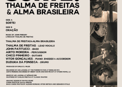 SORTE - Album Cover Back Side