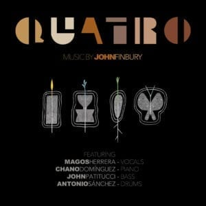 Quatro by John Finbury Composer Single Cover Photo