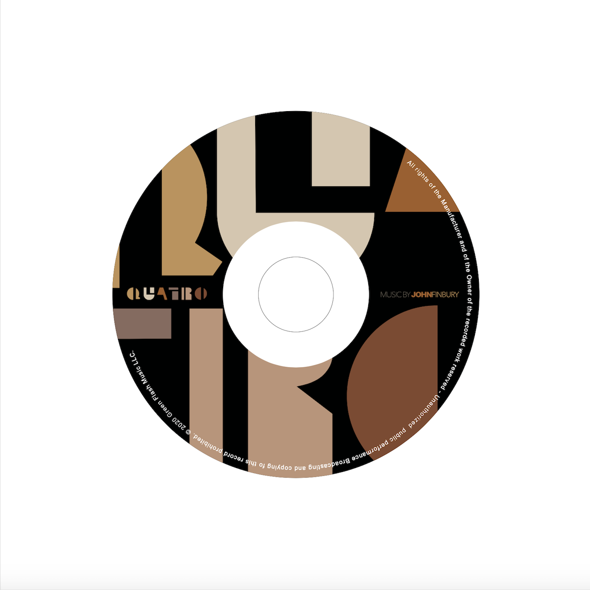 Quatro by John Finbury Composer Single Cover Photo