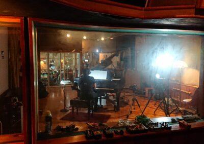 Chano Domínguez on Piano for Quatro Album John Finbury Photo