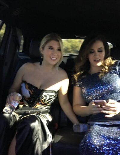 Grammy Photo of Pam Steebler & Marcella Camargo