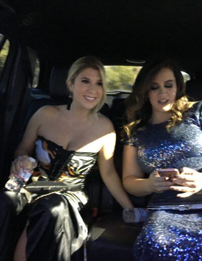 Grammy Photo of Pam Steebler & Marcella Camargo