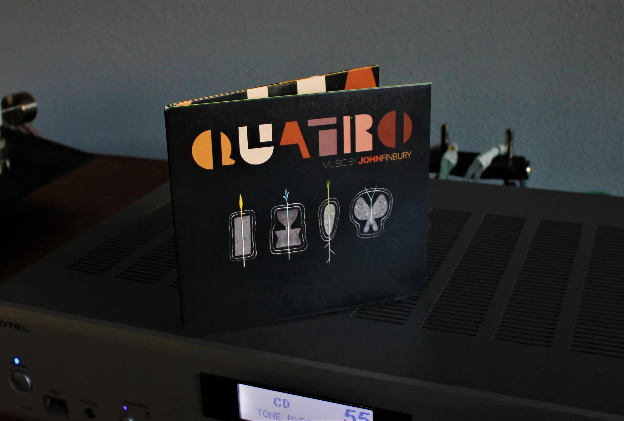 John Finbury, Quatro | The Vinyl Anachronist By Part-Time Audiophile